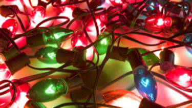 Christmas lights... with a vengeance