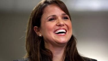"""Christine O'Donnell is reportedly crowd-sourcing her Facebook fans for advice on  whether or not to compete on """"Dancing with the Stars."""""""