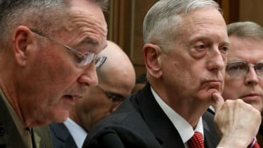 Defense Secretary James Mattis, commander in chief?
