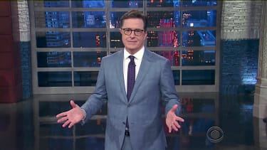 Stephen Colbert apologizes to Trump, kind of