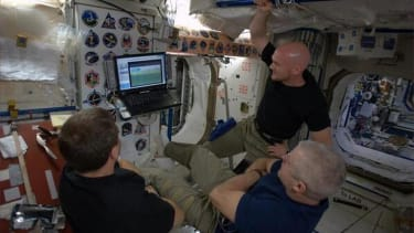 Even the International Space Station's astronauts are blowing off work to watch the World Cup