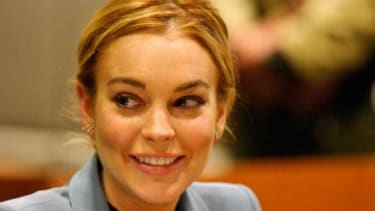 After a year in and around the clink, where else can Lindsay Lohan go but up, really.