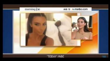 Kim Kardashian's selfie book stuns MSNBC hosts: This is 'why we're in decline'