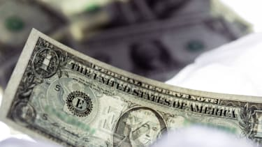 Dollar bill fading just like everyone who cares about debt