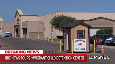 A childcare facility for minor immigrants in Texas