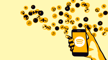 Spotify continues to lose money.