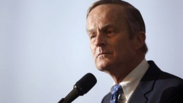 Rep. Todd Akin (R-Mo.) announces his candidacy for Senate, in Creve Coeur, Mo. in May 2011: Akin landed himself in hot water after making comments about rapes that result in pregnancy and whe