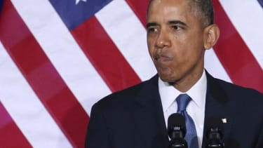 Obama's favorability rating hits a new low