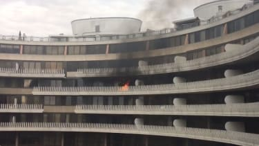 Watergate is burning.