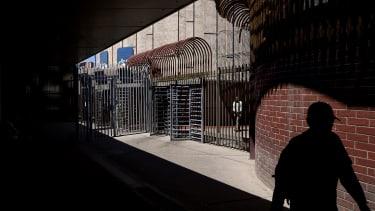 A border fence.