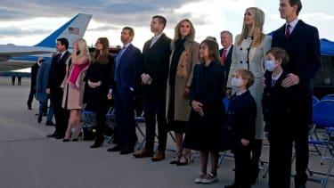 Members of the Trump family.