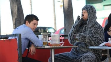 """FX's new """"surreal"""" comedy series """"Wilfred"""" is about a depressed lawyer and his dog, or, rather, his friend dressed in a dog suit, but who's really a dog. Get it?"""