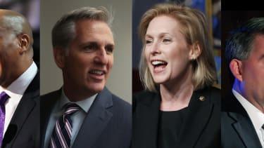 Sen. Cory Booker, Rep. Kevin McCarthy, Sen. Kirsten Gillibrand, Sen. Cory Gardner.