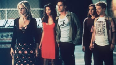 The cast of 'Buffy the Vampire Slayer'