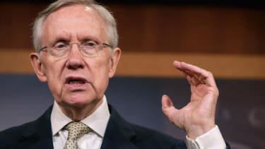 Harry Reid wants to keep giving military gear to local cops