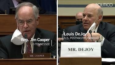 Louis DeJoy testifies