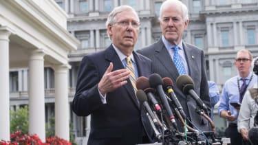 Sen. Mitch McConnell and Sen. John Cornyn.