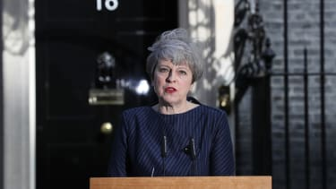 Theresa May announces a surprise general election for June