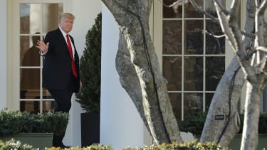 President Trump White House.