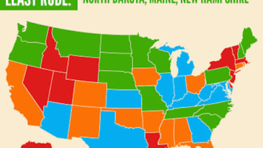 America's rudest drivers aren't in Boston or New York after all