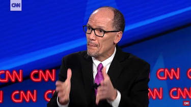 Tom Perez, leading candidate for DNC chairman