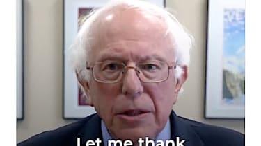Bernie Sanders thanks the Koch brothers