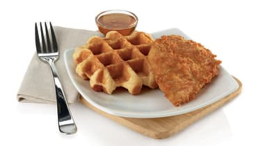 Chick-fil-A is now serving chicken and waffles