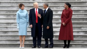 Obama speaks to Trump on Inauguration Day.