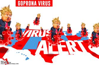 Political Cartoon U.S. Coronavirus GOP Trump Impeachment