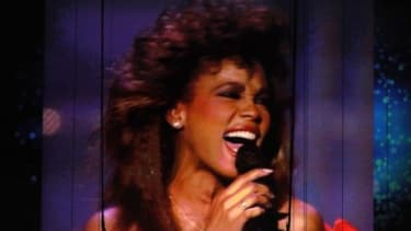A video still of Whitney Houston is displayed during a Grammy tribute on Sunday night: Many critics say the ceremony didn't properly honor the late singer, who died Saturday.