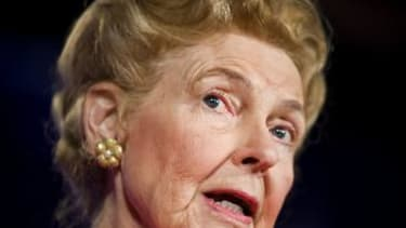 Conservative activist Phyllis Schlafly thinks the pay gap helps women find husbands