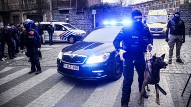 The hunt for terrorist in Brussels.