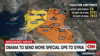 Obama is set to announced 250 more military personnel to Syria