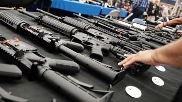 Gun show in Texas.