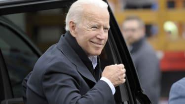 Joe Biden in Massachusetts