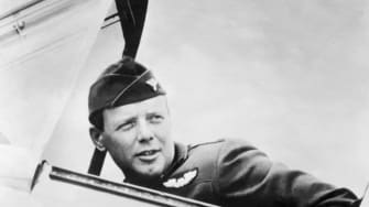 Charles Lindbergh.