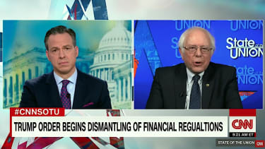 Bernie Sanders calls President Trump a fraud