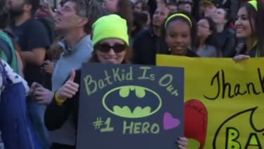 The Oscars dropped a special appearance by Batkid