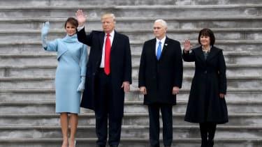 President Trump sends off citizen Obama.