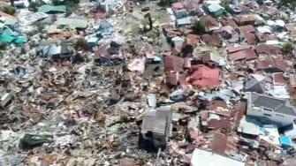 Devastation in Indonesia.