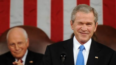 Former President George W. Bush is looking pretty great right about now.
