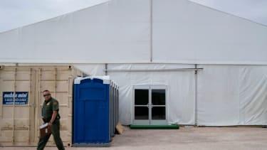 A border patrol facility.