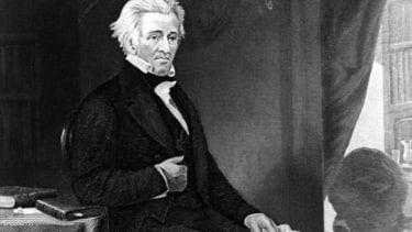 President Andrew Jackson circa 1830