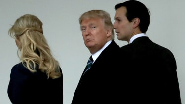 President Trump, Ivanka Trump, Jared Kushner