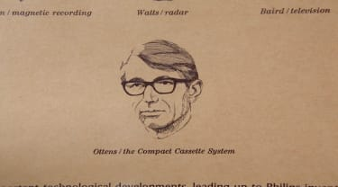 Lou Ottens, father of the cassette tape