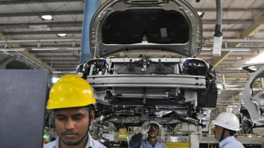 China and India continue to manufacture products at a rapid pace.