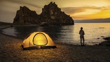 A luxurious camping experience is within reach.