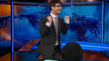 John Oliver welcomes the royal baby