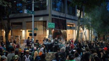 Capitol Hill Autonomous Zone in Seattle