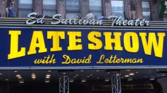 The Ed Sullivan Theater.